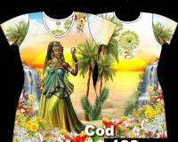 Vestido Curto de Oxum