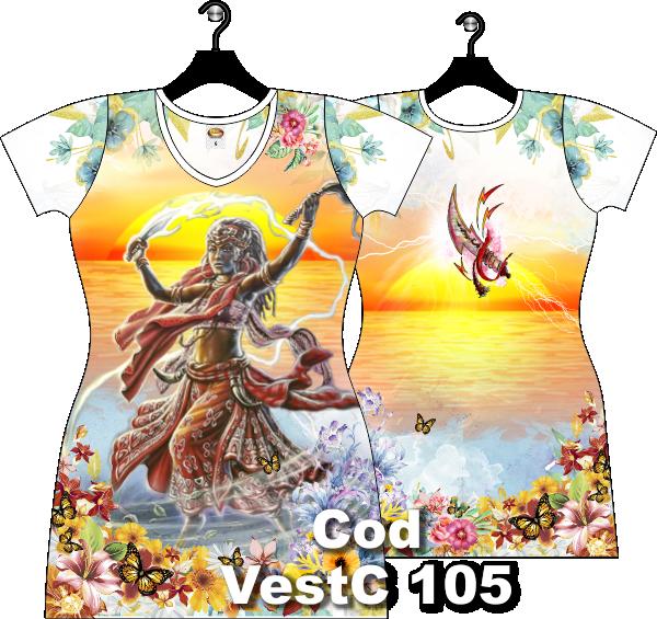 Vestido Curto de Yansã